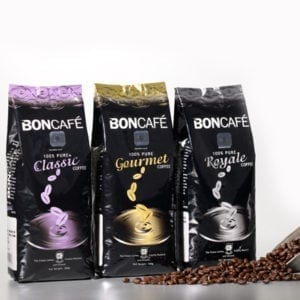 Boncafé Roasted & Ground Coffee Collection
